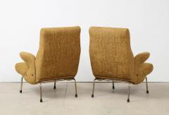 Erberto Carboni Pair of Delfino Armchairs by Erberto Carboni for Arflex - 1450372