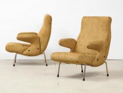 Erberto Carboni Pair of Delfino Armchairs by Erberto Carboni for Arflex - 1450375