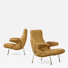 Erberto Carboni Pair of Delfino Armchairs by Erberto Carboni for Arflex - 1461728