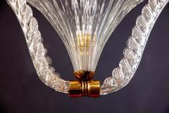 Ercole Barovier Art Deco Murano Glass Pendant by Ercole Barovier 1940 - 1744048
