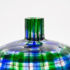 Ercole Barovier Barovier for Christian Dior Paris Tartan Murano Glass Bottle with Stopper - 831957