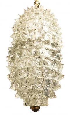 Ercole Barovier Elliptical Rostrato Pendant by Ercole Barovier - 1108173
