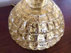 Ercole Barovier Ercole Barovier Pair Massive Murano Glass Table Lamps - 1939610