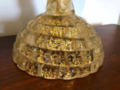 Ercole Barovier Ercole Barovier Pair Massive Murano Glass Table Lamps - 1939616