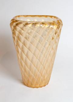 Ercole Barovier Large Iridescent Italian Art Glass Murano Vase Attributed to Ercole Barovier - 295448