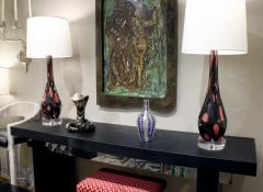 Ercole Barovier Rare and Important Barovier Toso Saturneo Hand Blown Vase 1951 - 803184