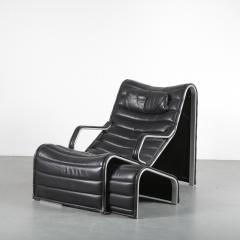 Eric Sigfrid Persson Lounge Chair with Ottoman for M belkultur AB in Sweden - 1494708