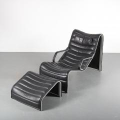 Eric Sigfrid Persson Lounge Chair with Ottoman for M belkultur AB in Sweden - 1494709