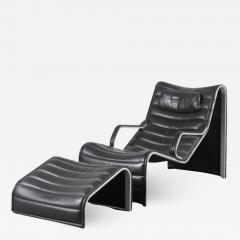 Eric Sigfrid Persson Lounge Chair with Ottoman for M belkultur AB in Sweden - 1496350