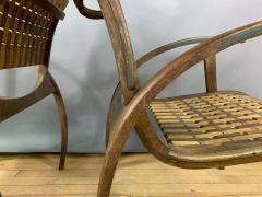Erich Dieckmann 1930s Erich Dieckmann Bauhaus Chair Gelenka Germany - 1816288