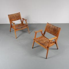 Erich Dieckmann Pair of Erich Dieckmann Lounge Chairs for Gelanka Tyskland Germany 1930s - 1147397