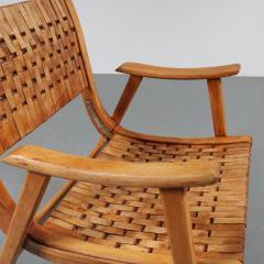 Erich Dieckmann Pair of Erich Dieckmann Lounge Chairs for Gelanka Tyskland Germany 1930s - 1147403