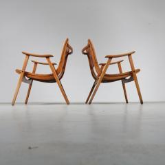 Erich Dieckmann Pair of Erich Dieckmann Lounge Chairs for Gelanka Tyskland Germany 1930s - 1147407