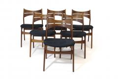 Erik Buch Erik Buch Rosewood Dining Chairs Set of 6 - 1264750