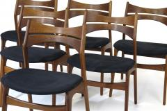 Erik Buch Erik Buch Rosewood Dining Chairs Set of 6 - 1264751