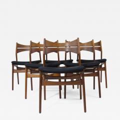 Erik Buch Erik Buch Rosewood Dining Chairs Set of 6 - 1266302