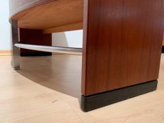 Erik Buch Mid Century Modern Teak Wood Bar Cabinet by Erik Buch for Dyrlund Denmark 1960s - 1488172