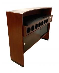 Erik Buch Mid Century Modern Teak Wood Bar Cabinet by Erik Buch for Dyrlund Denmark 1960s - 1488173
