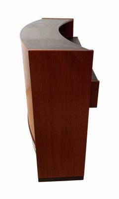 Erik Buch Mid Century Modern Teak Wood Bar Cabinet by Erik Buch for Dyrlund Denmark 1960s - 1488175