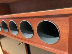 Erik Buch Mid Century Modern Teak Wood Bar Cabinet by Erik Buch for Dyrlund Denmark 1960s - 1488178