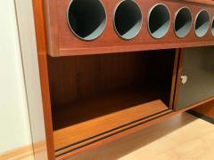 Erik Buch Mid Century Modern Teak Wood Bar Cabinet by Erik Buch for Dyrlund Denmark 1960s - 1488179