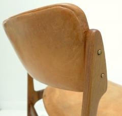 Erik Buck Early Erik Buck Chair in Teak and Leather - 917935