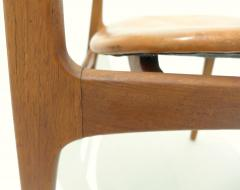 Erik Buck Early Erik Buck Chair in Teak and Leather - 917936