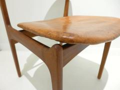 Erik Buck Early Erik Buck Chair in Teak and Leather - 917937