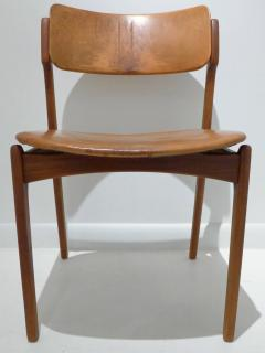 Erik Buck Early Erik Buck Chair in Teak and Leather - 917938