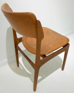Erik Buck Early Erik Buck Chair in Teak and Leather - 917940