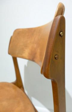 Erik Buck Early Erik Buck Chair in Teak and Leather - 917941