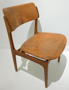 Erik Buck Early Erik Buck Chair in Teak and Leather - 917942