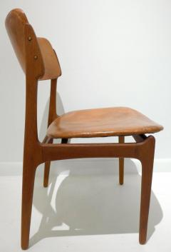Erik Buck Early Erik Buck Chair in Teak and Leather - 917943