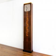 Erik Chambert ERIK CHAMBERT ART DECO MARQUETRY CABINET FLOOR CLOCK - 1448900