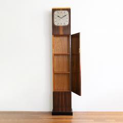 Erik Chambert ERIK CHAMBERT ART DECO MARQUETRY CABINET FLOOR CLOCK - 1448904