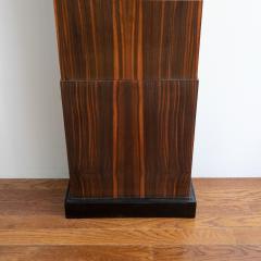 Erik Chambert ERIK CHAMBERT ART DECO MARQUETRY CABINET FLOOR CLOCK - 1448907
