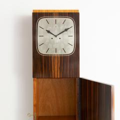 Erik Chambert ERIK CHAMBERT ART DECO MARQUETRY CABINET FLOOR CLOCK - 1448908