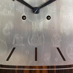Erik Chambert ERIK CHAMBERT ART DECO MARQUETRY CABINET FLOOR CLOCK - 1448910