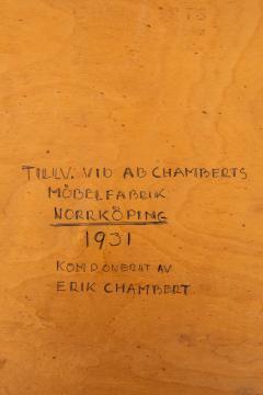 Erik Chambert Tray Table Produced by AB Chamberts M belfabrik - 1974723