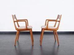 Erik Christensen Danish Teak Boomerang Dining Chairs By Erik Christensen    214998