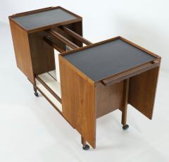 Erik Glasdam Scandinavian Modern Expandable Dry Bar Designed by Erik Glasdam - 2132563