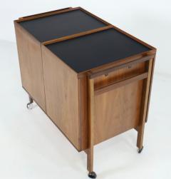 Erik Glasdam Scandinavian Modern Expandable Dry Bar Designed by Erik Glasdam - 2132565