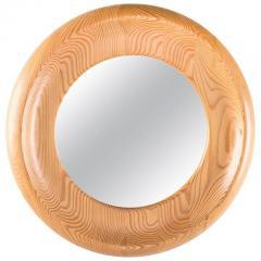 Erik H glund Round Swedish Mirror in Pine by Erik H glund - 847317