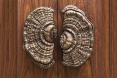 Erin Sullivan Flora Series Bronze Mushroom Door Pulls USA - 1164360