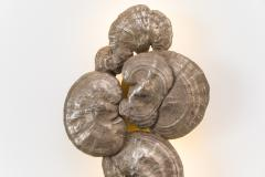 Erin Sullivan Flora Series Bronze Mushroom Sconces USA - 1164349