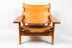 Erling Jessen 1960s Erling Jessen Oak and Leather Lounge Chair - 1146433