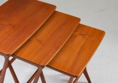 Erling Torvits Scandinavian Midcentury Nesting Tables by Erling Torvits for HM - 1690185