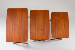 Erling Torvits Scandinavian Midcentury Nesting Tables by Erling Torvits for HM - 1690186