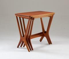 Erling Torvits Scandinavian Midcentury Nesting Tables by Erling Torvits for HM - 1690188