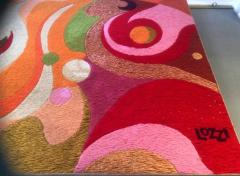 Erminio Lozzi Two large tapestries by Erminio Lozzi 1970s period - 915462
